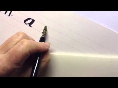 Calligraphy Left Handers Youtube