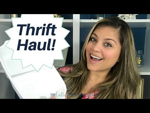 First Thrift Haul - Coastal Farmhouse Decor