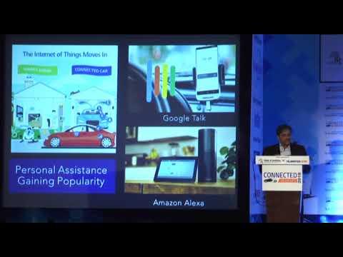 C V Raman, Sr. Executive Director, Maruti Suzuki- Connected Vehicles 2018, Bengaluru