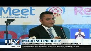 Safaricom, Microsoft launch virtual conferencing facility