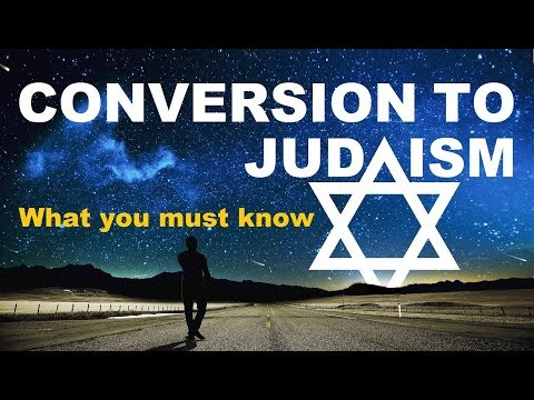 CONVERSION TO JUDAISM: What You Must Know – Rabbi Michael Skobac – Jews for Judaism