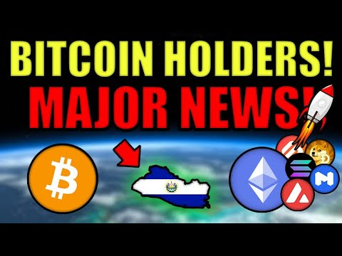 NEWS: El Salvador To Make Bitcoin LEGAL TENDER (First Country Ever)!Eth Supply 2-Year Low!