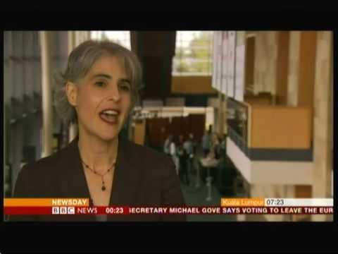 William Shakespeare digital style (USA) - BBC News - 20th April 2016