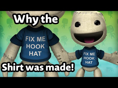 "Why the ""Fix Me Hook Hat"" T-shirt for LBP3 Was Made!"