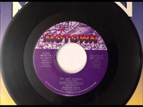 My Last Chance , Marvin Gaye , 1990 Vinyl 45RPM