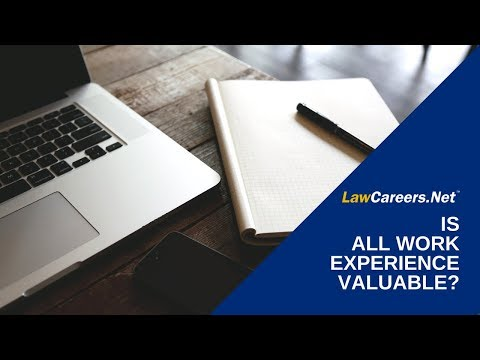 is-all-work-experience-valuable?