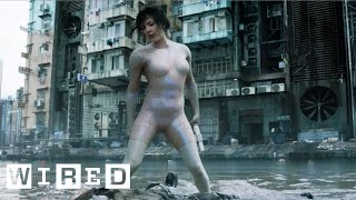 Creating Scarlett Johansson's Computer-Generated Body Suit | Ghost in the Shell | Design FX | WIRED