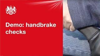 Handbrake checks