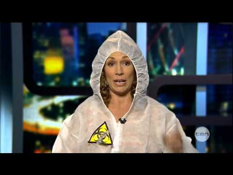 Kitty Flanagan on germs - The Project