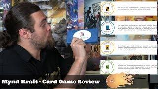 Mynd Craft - Kickstarter - Card Game Review