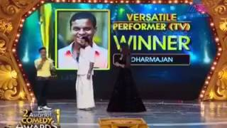Dharmajan Pisharadi @ asianet comedy award