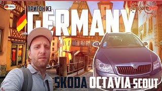 шкода Октавия Скаут вездеход из Германии с пробегом 280000 за 5500 евро