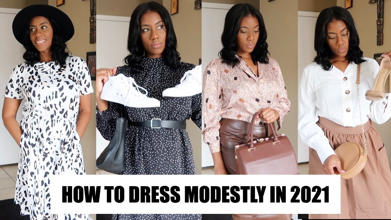 How To Dress Modestly/Classy in 4- Shopping at SHEIN,TARGET,BURLINGTON
