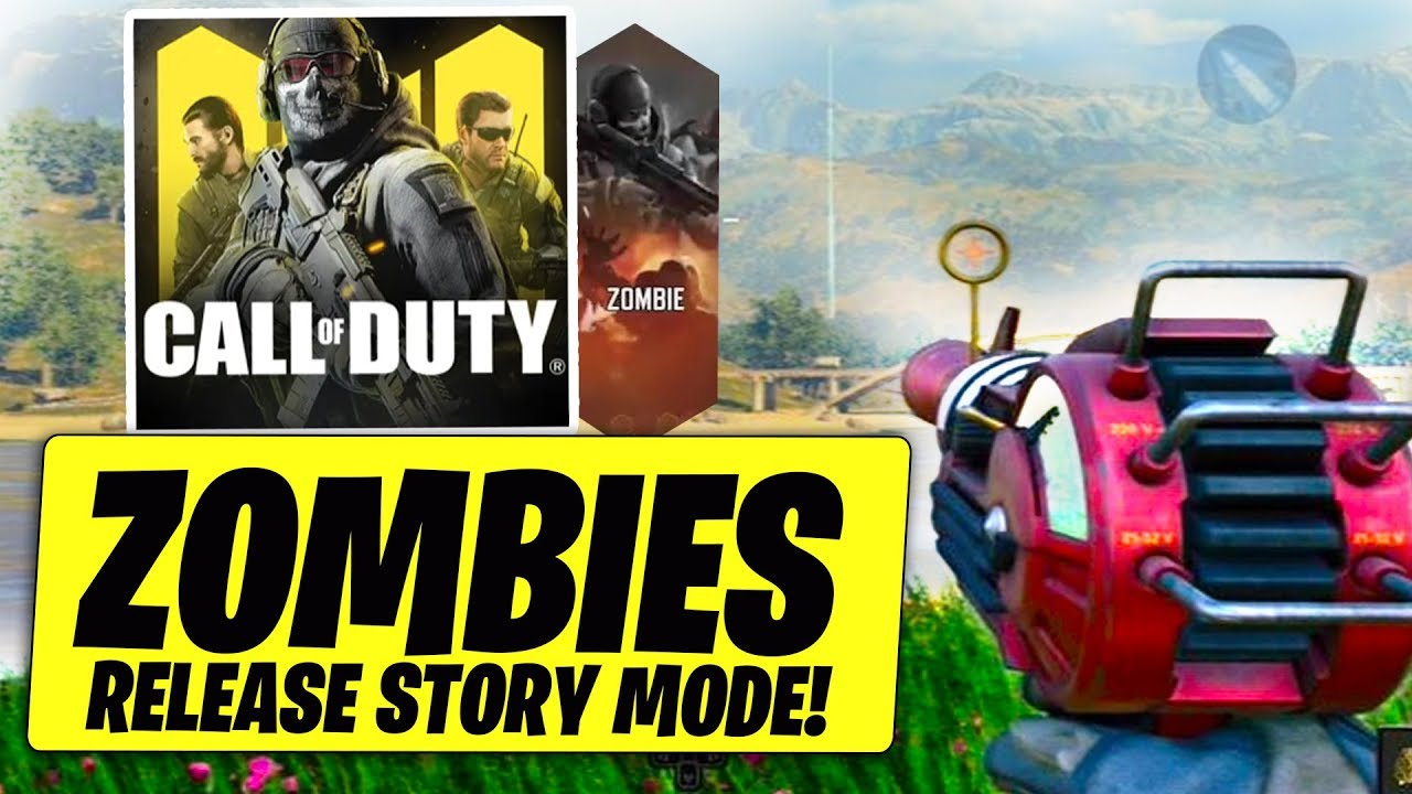 Call of Duty Mobile ZOMBIES RELEASE STORY MODE..