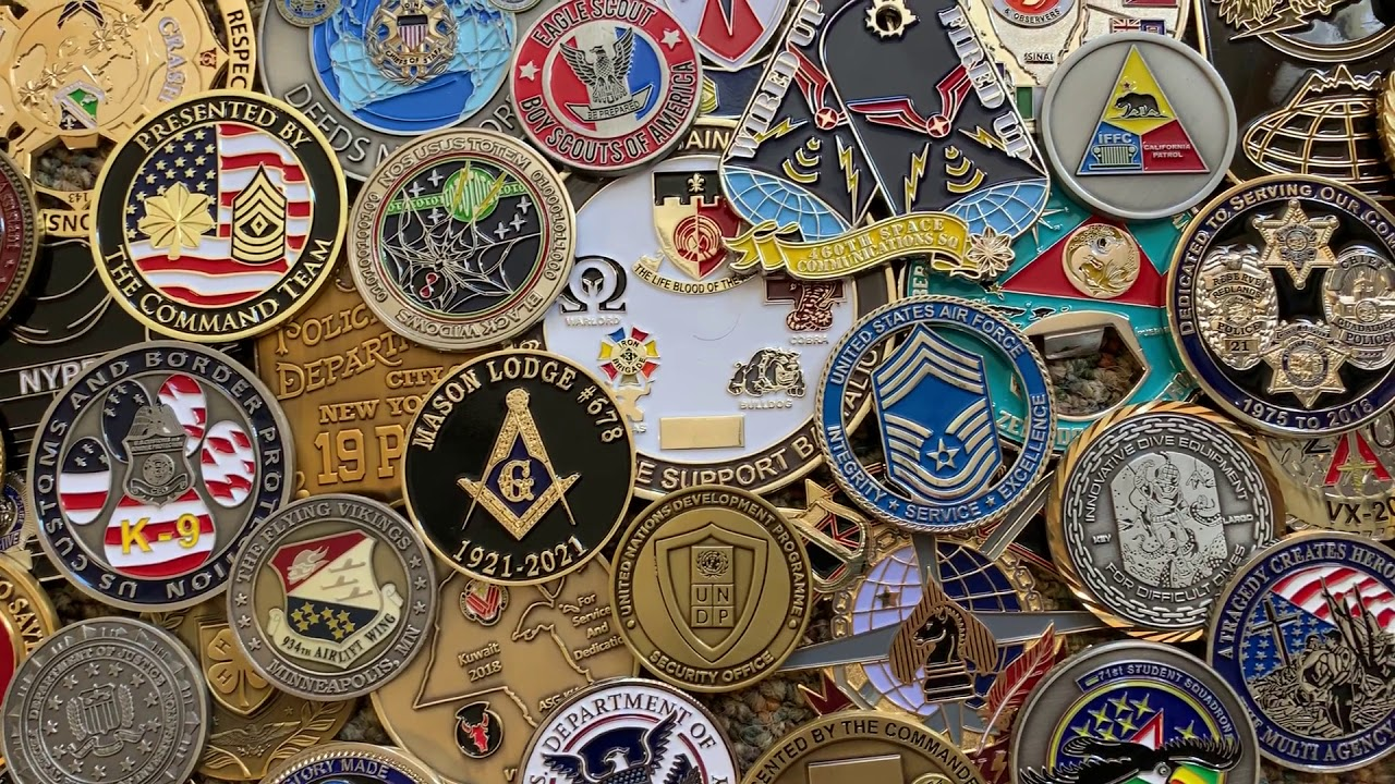 Custom Challenge Coins - 21 Years Experience - Lowest Prices