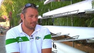 AS Javier Reja, rowing with the impulse of personal overcoming