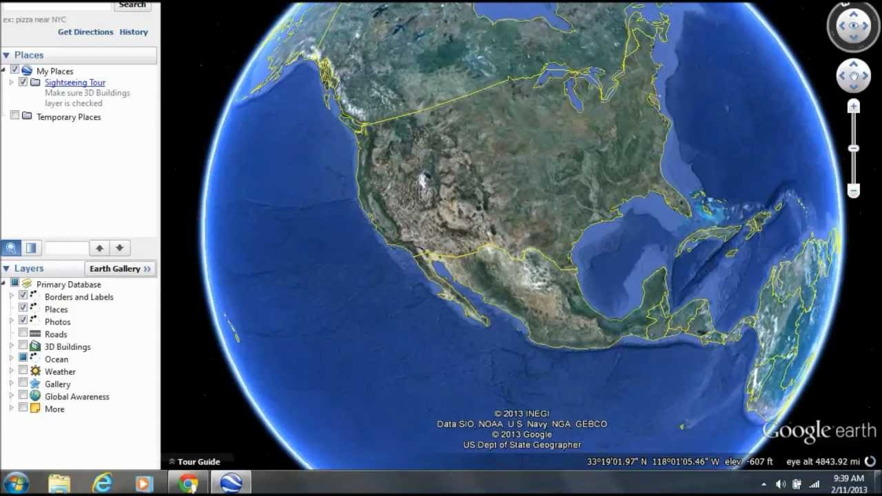 How to download and use google earth youtube how to download and use google earth gumiabroncs Images