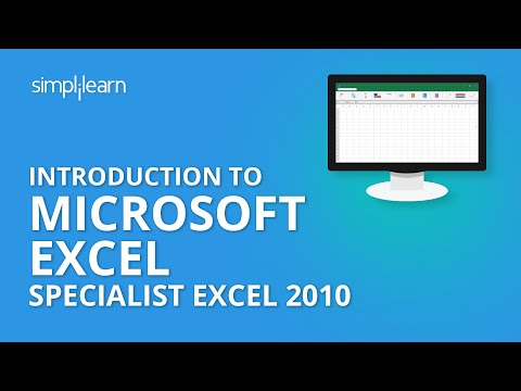 Introduction to Microsoft Office Specialist Excel 2010 MS Excel