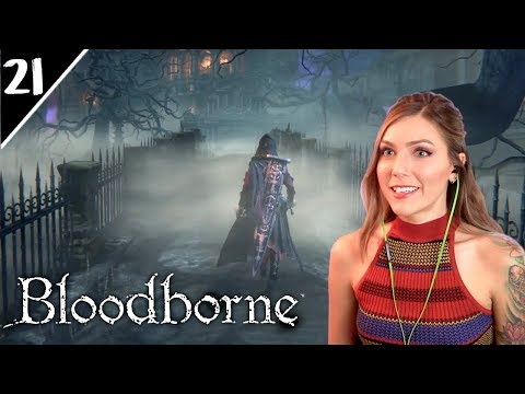 The Upper Cathedral Ward   Bloodborne Pt. 21   Marz Plays