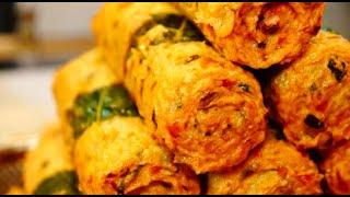 1000만원짜리 튀김기에 튀긴 수제어묵, Hand-made Eomuk, Fish Cake, Korean Street Food, 무궁화어묵, 망원시장, Mangwondong