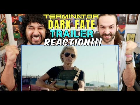 TERMINATOR: DARK FATE -  Teaser TRAILER REACTION!!!