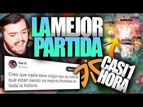 LA MEJOR PARTIDA DE LA HISTORIA DE LOS WORLDS | FNC vs RNG | Resumen y Highlights