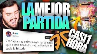 LA MEJOR PARTIDA DE LA HISTORIA DE LOS WORLDS   FNC vs RNG   Resumen y Highlights