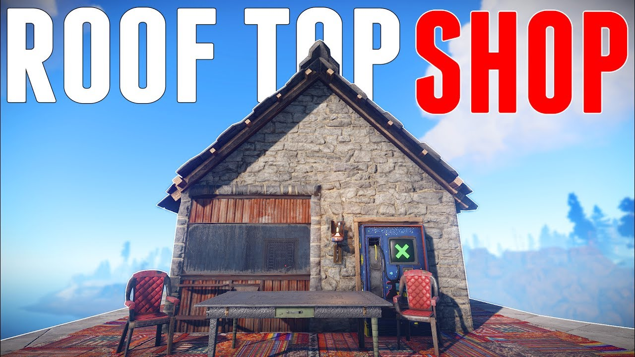 Building A Shop On Someones Roof Rust Youtube