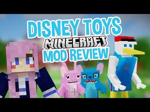Creepy Disney Toys! | Minecraft Mod