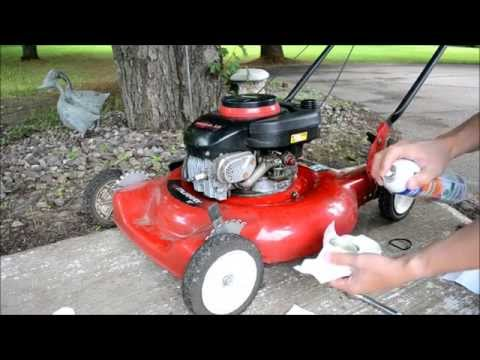 How To Start A Mower That's Been Sitting