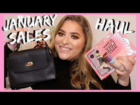 JANUARY SALES + BOXING DAY HAUL | GH0STBLONDIE