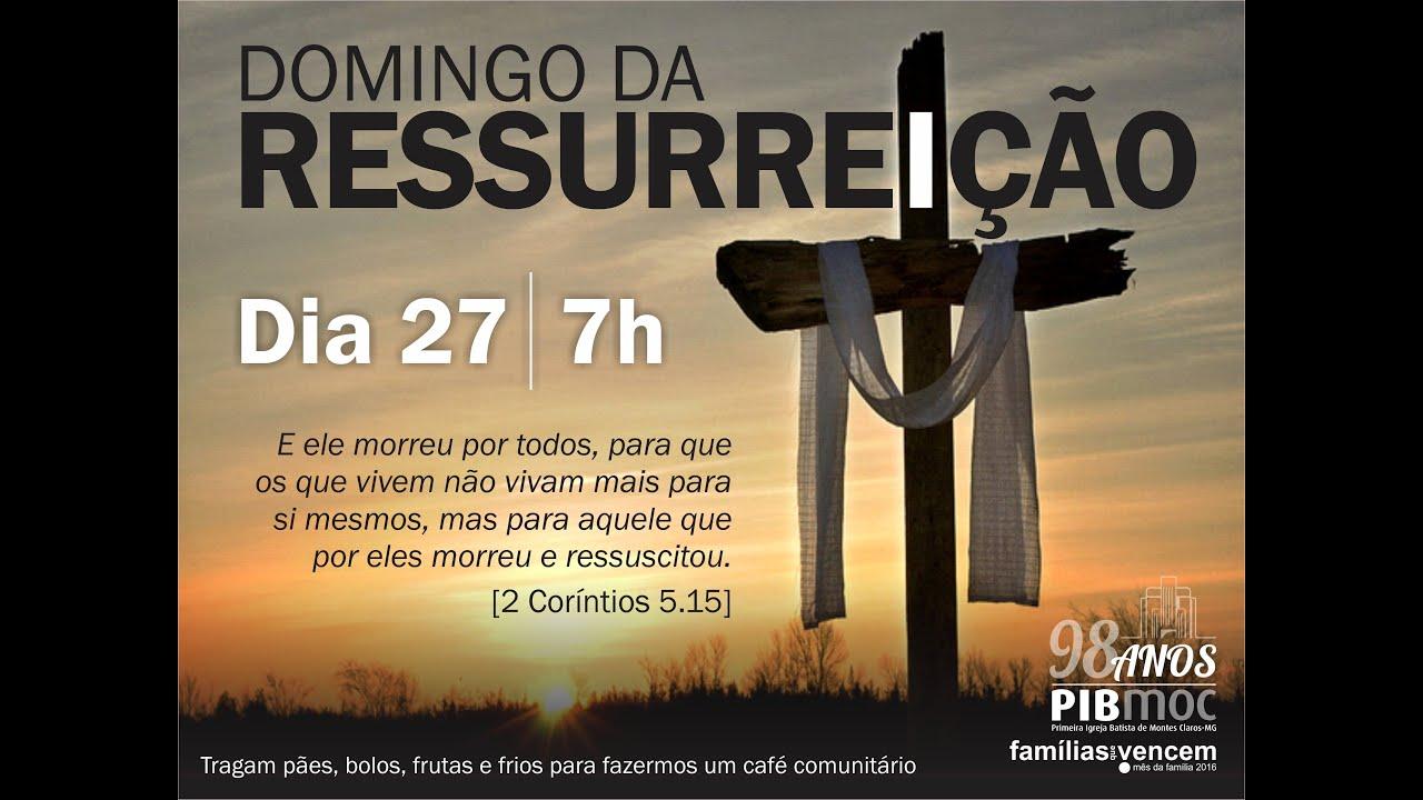 Mensagem Especial De Domingo: Domingo Da Ressurreição
