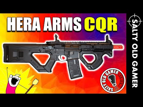The IMPRESSIVE ASG Hera Arms CQR | SaltyOldGamer Airsoft Review