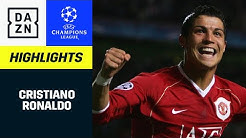 Cristiano Ronaldo: Alle UCL-Tore | UEFA Champions League | DAZN Highlights