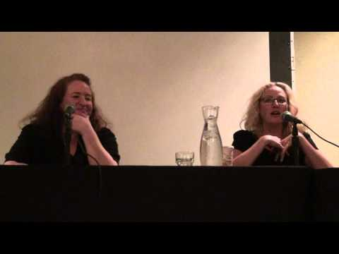 Monster Mania Horror Convention Candyman Panel Tony Todd, Virginia Madsen & Rusty Schwimmer