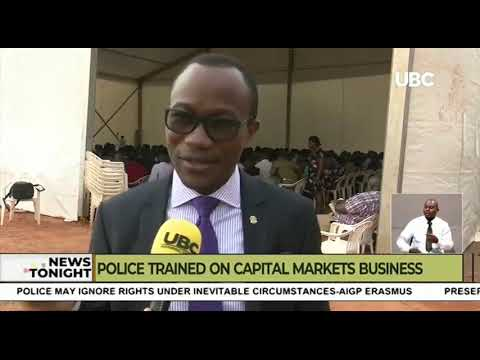 Police Trained on Capital Markets Business