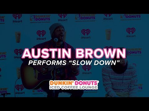 Austin Brown Performs 'Slow Down' Live | DDICL