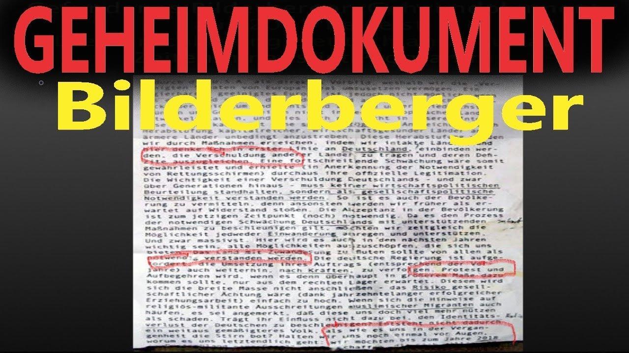 Schockierendes Geheimdokument der Bilderberger aus dem Jahr 2012 gefunde.Hinweis auf Chemnitz?Merkel