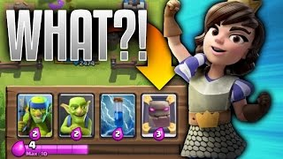 "OMG! CRAZY MIRROR GLITCH/BUG! ""MAKE ANY CARD 3 ELIXIR"" IN CLASH ROYALE!"