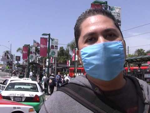Swine flu spooks some at US-Mexico border