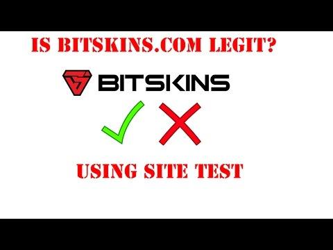 Is bitskins com legit? Deposited +$25 USD Test! [HD] - YouTube