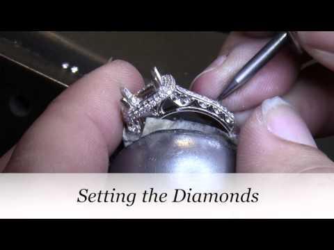 Making Carrie's Custom Engagement Ring