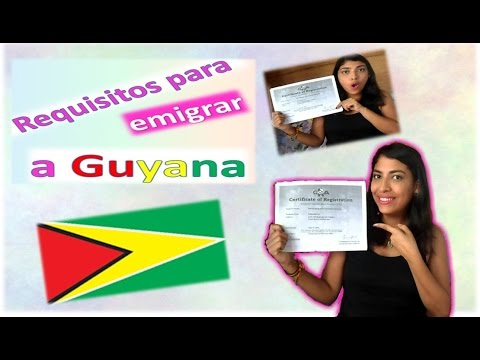 Requisitos para emigrar a Guyana+ Mi estatus legal+ Costo de alquiler en Guyana