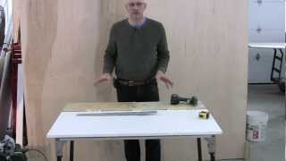 Cutting An Ellipse With a Router