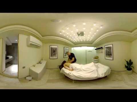 Крокус-фитнес видео 360 градусов 8К