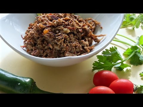 Mexican Shredded Beef – The Frugal Chef