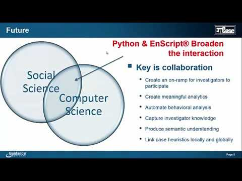 EnCase & Python - Extending Your Investigative Capabilities