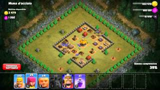 Clash of clans - level 25 - 100% WALLS OF STEEL