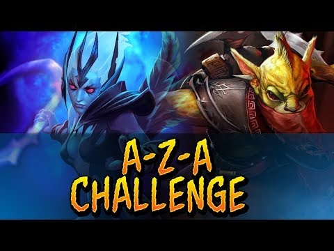 Dota 2 - A-Z-A Challenge Bounty Hunter & Vengeful Spirit