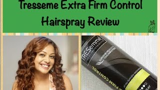 Tresseme Extra Firm Control Hair Spray Review